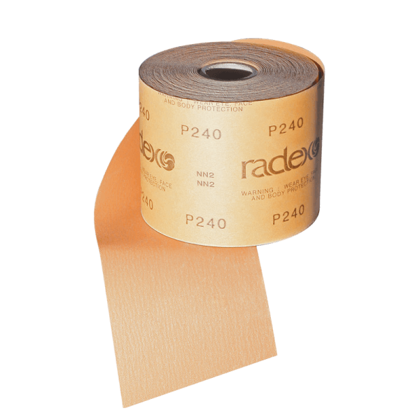 GOLD ABRASIVE PAPER ROLLS