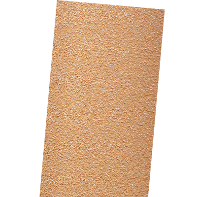 GOLD ABRASIVE PAPER SHEETS WITH VELCRO, NO HOLES