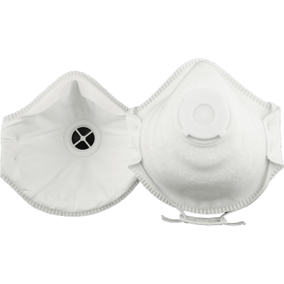 PARTICULATE RESPIRATOR WITH EXHALE VALVE P2
