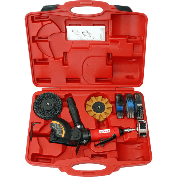 RUST & PAINT REMOVAL TOOL KIT WITH ALL CLEANING DISCS