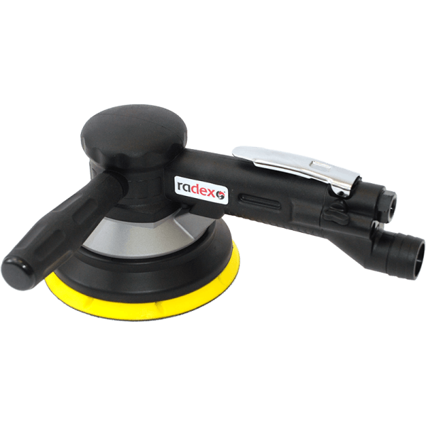 2-HAND GEAR-DRIVEN SANDER 150 MM PAD