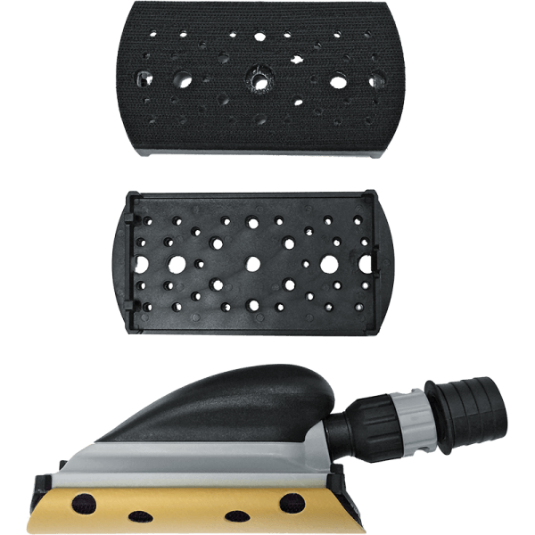KIT FOR DRY SANDING WITH ABRASIVE DISCS